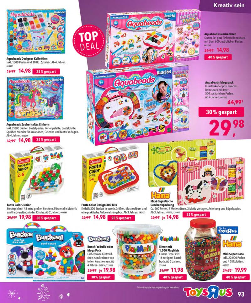 Toys'R'Us Prospekt vom 13.10.2018, Seite 92