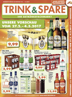 Trink & Spare Prospekt vom 27.02.2017