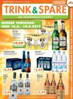 Trink & Spare Prospekt vom 14.08.2017