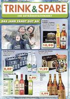 Trink & Spare Prospekt vom 22.01.2018