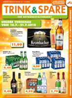 Trink & Spare Prospekt vom 16.07.2018