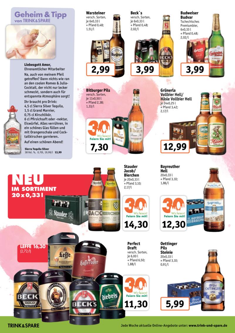 Trink & Spare Prospekt vom 11.02.2019, Seite 1