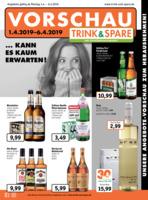 Trink & Spare Prospekt vom 01.04.2019