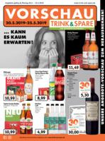 Trink & Spare Prospekt vom 20.05.2019