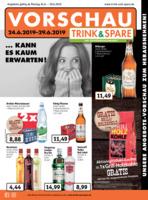 Trink & Spare Prospekt vom 24.06.2019