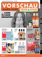 Trink & Spare Prospekt vom 12.08.2019