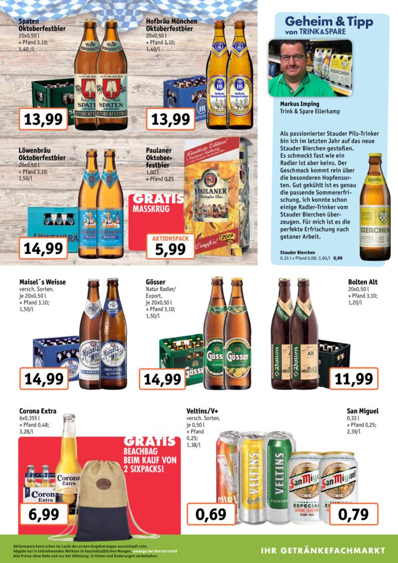 Trink & Spare Prospekt vom 19.08.2019, Seite 2