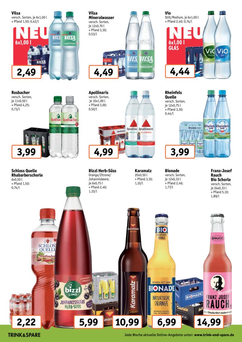 Trink & Spare Prospekt vom 19.08.2019, Seite 3