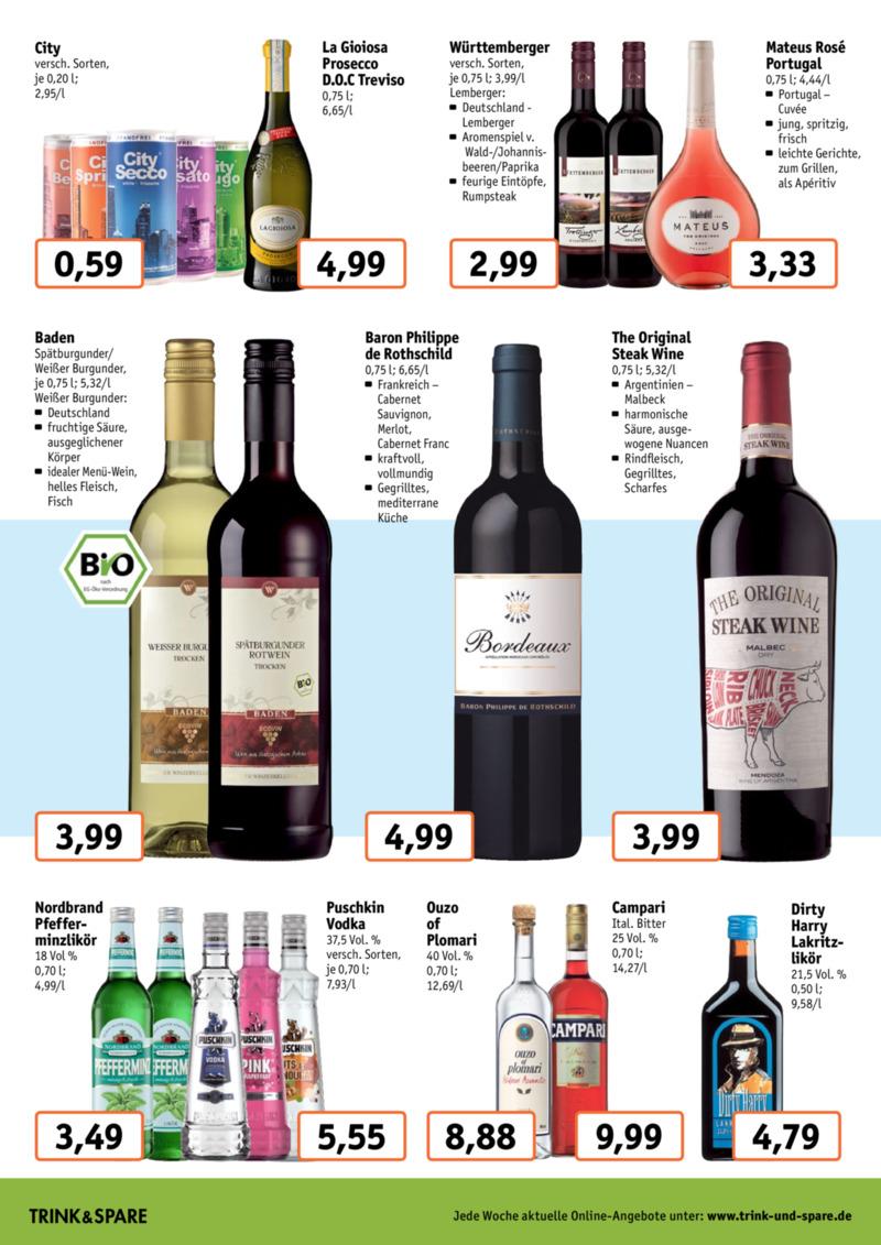 Trink & Spare Prospekt vom 19.08.2019, Seite 5