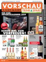 Trink & Spare Prospekt vom 21.10.2019