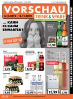 Trink & Spare Prospekt vom 04.11.2019