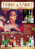 Trink & Spare Prospekt vom 23.12.2019