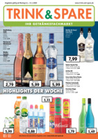 Trink & Spare Prospekt vom 06.01.2020