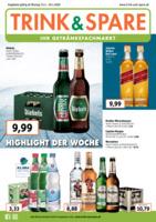 Trink & Spare Prospekt vom 13.01.2020