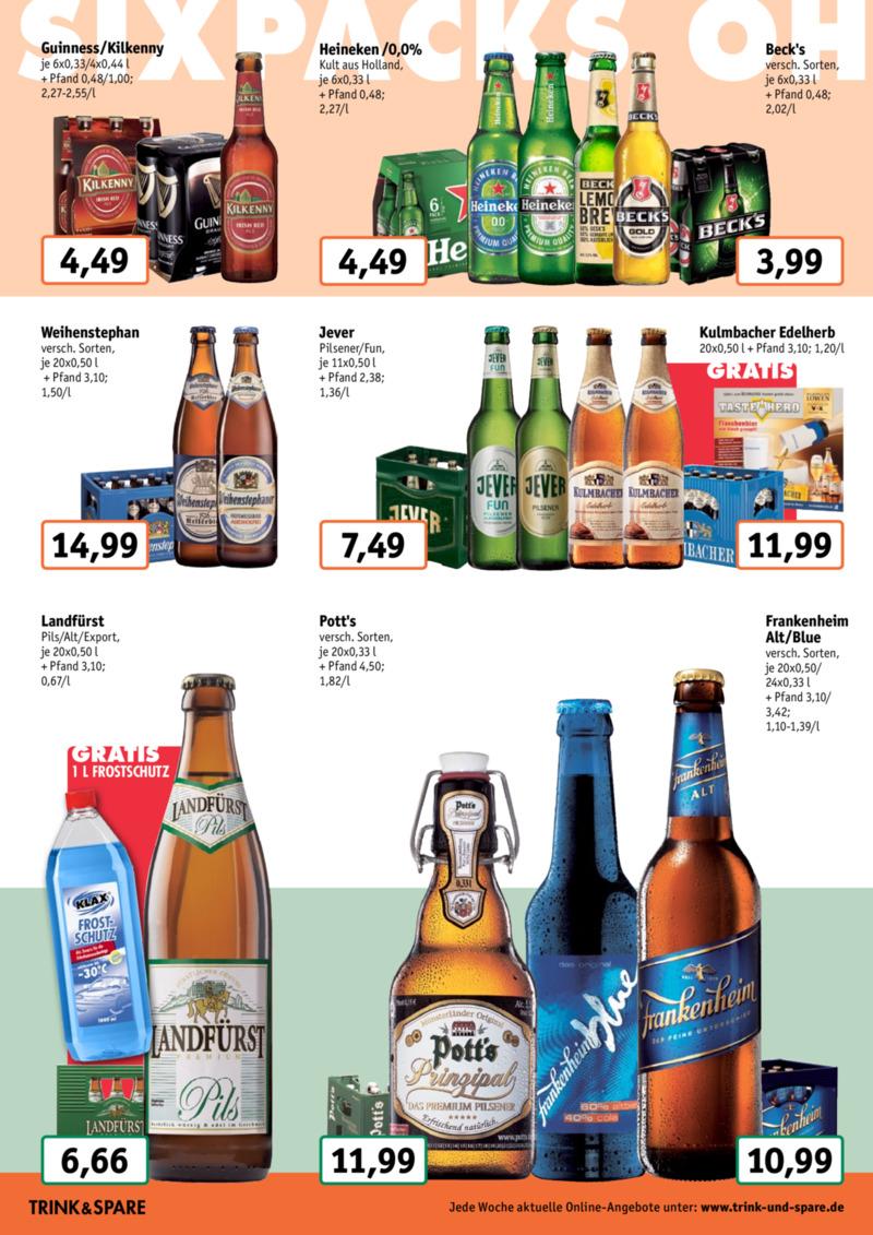 Trink & Spare Prospekt vom 27.01.2020