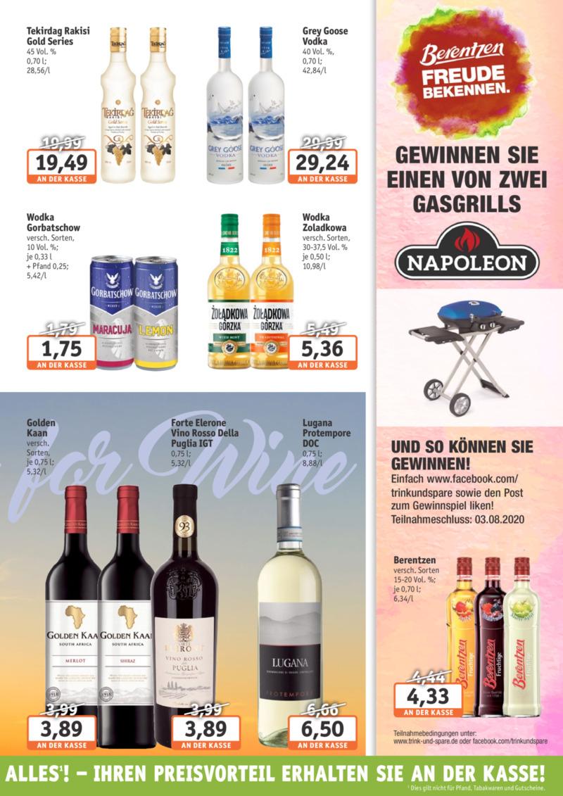 Trink & Spare Prospekt vom 06.07.2020, Seite 6