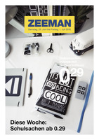 Zeeman Prospekt vom 25.06.2016