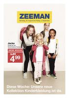 Zeeman Prospekt vom 20.08.2016