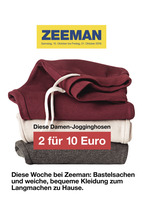 Zeeman Prospekt vom 15.10.2016