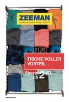 Zeeman Prospekt vom 22.04.2017