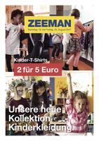 Zeeman Prospekt vom 19.08.2017