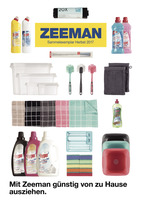 Zeeman Prospekt vom 29.08.2017
