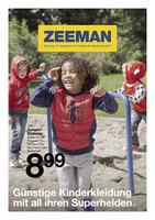 Zeeman Prospekt vom 16.09.2017