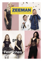 Zeeman Prospekt vom 11.11.2017