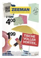 Zeeman Prospekt vom 26.05.2018