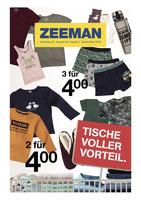 Zeeman Prospekt vom 25.08.2018
