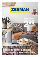 Zeeman Prospekt vom 13.10.2018