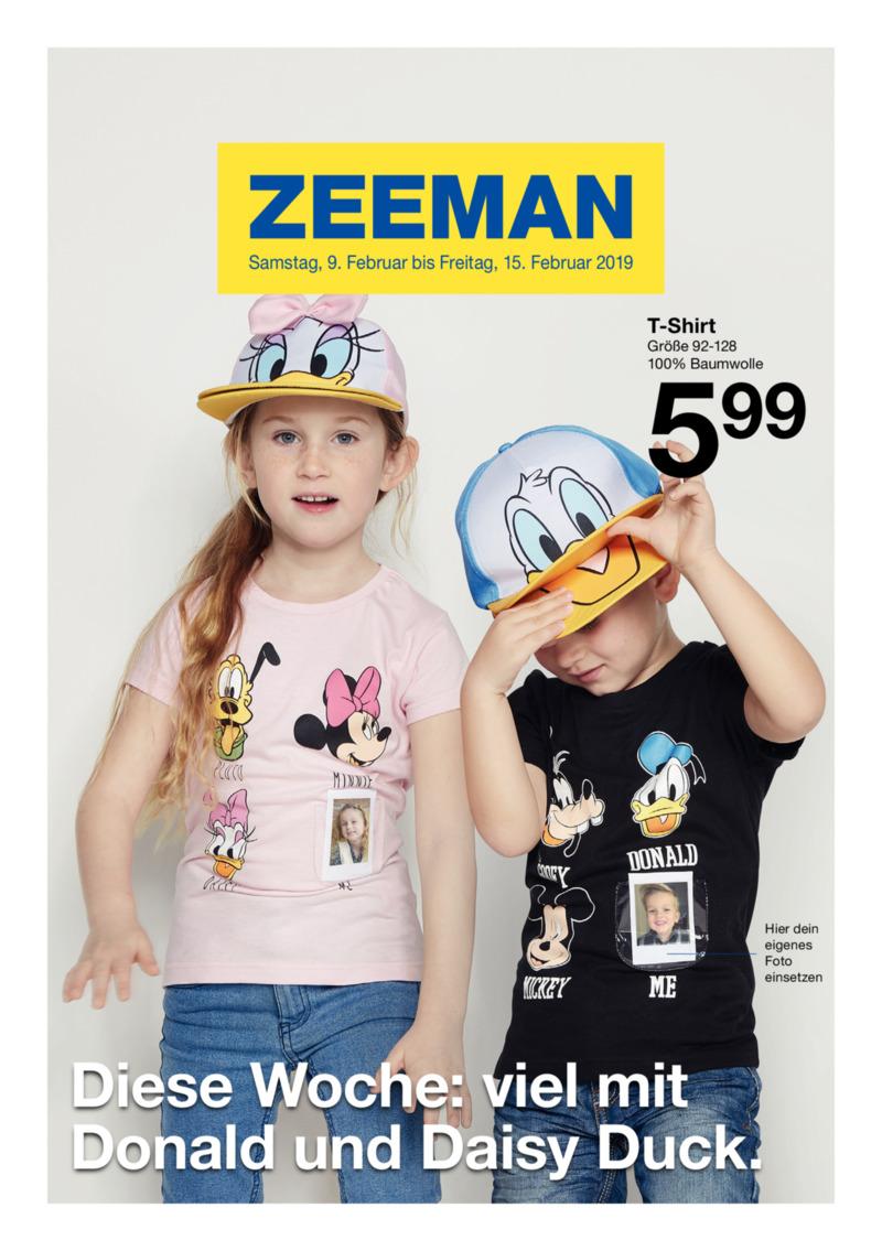Zeeman Prospekt vom 09.02.2019, Seite