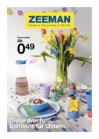 Zeeman Prospekt vom 16.03.2019