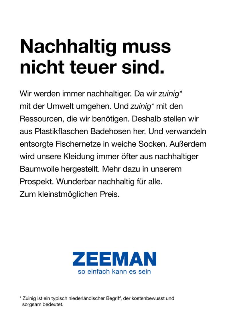 Zeeman Prospekt vom 18.05.2019, Seite 2