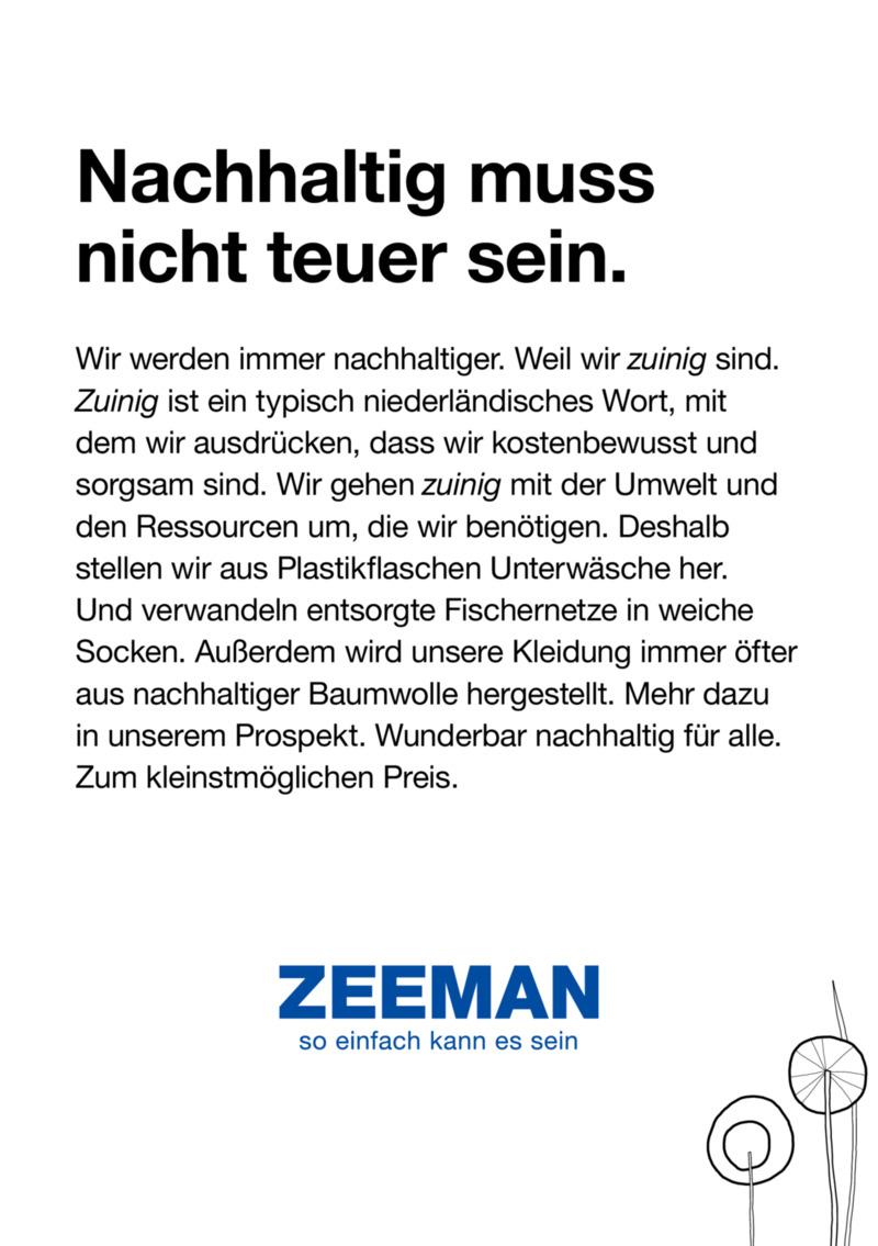 Zeeman Prospekt vom 04.07.2020, Seite 2