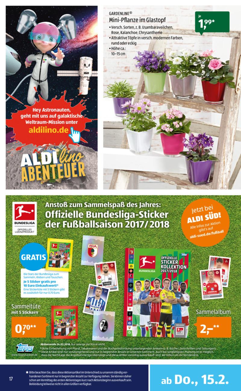 Aldi Süd Prospekt vom 12.02.2018, Seite 16