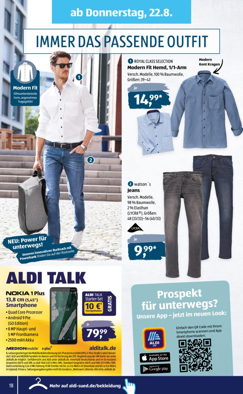 Aldi Süd Prospekt vom 19.08.2019, Seite 16