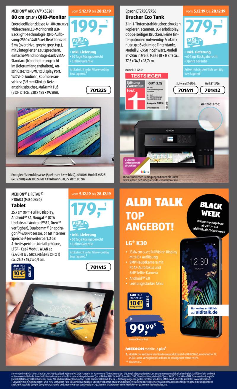 Aldi Süd Prospekt vom 02.12.2019, Seite 33