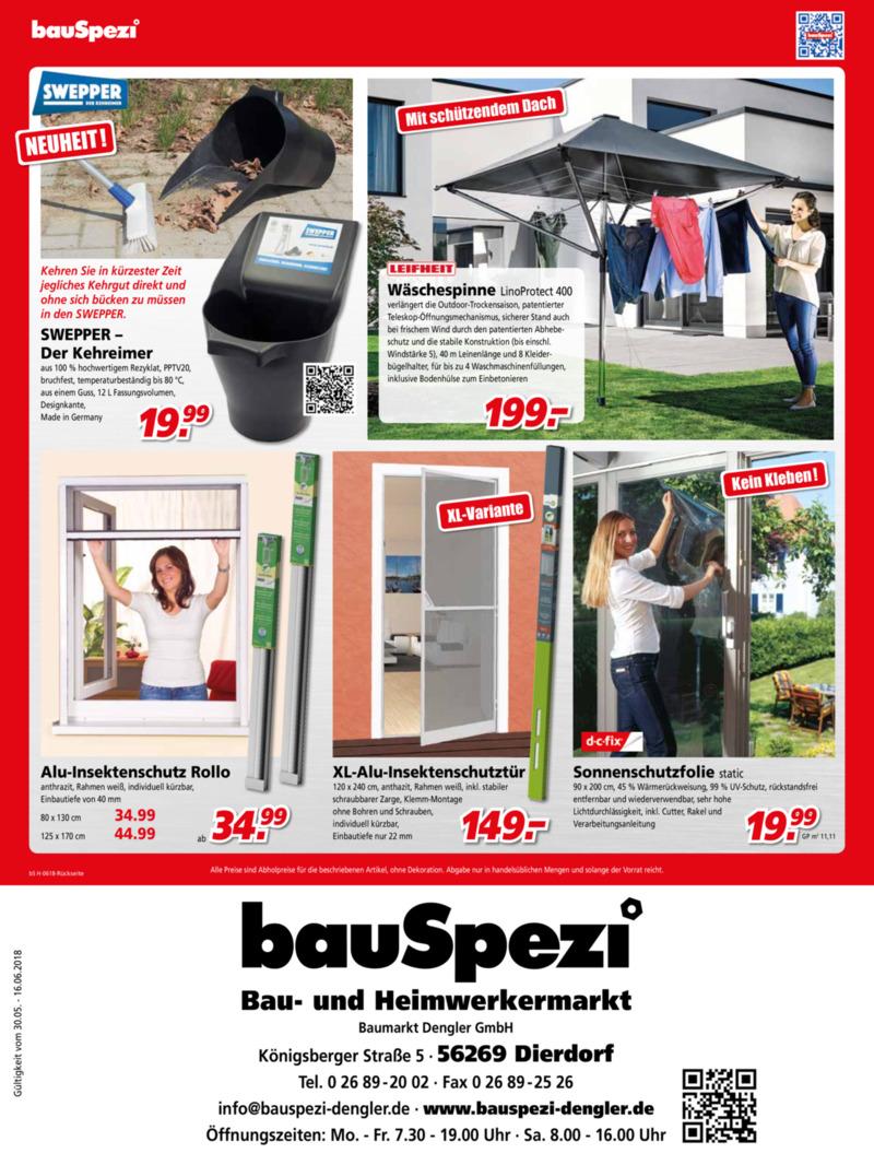 bauSpezi Prospekt vom 30.05.2018, Seite 3