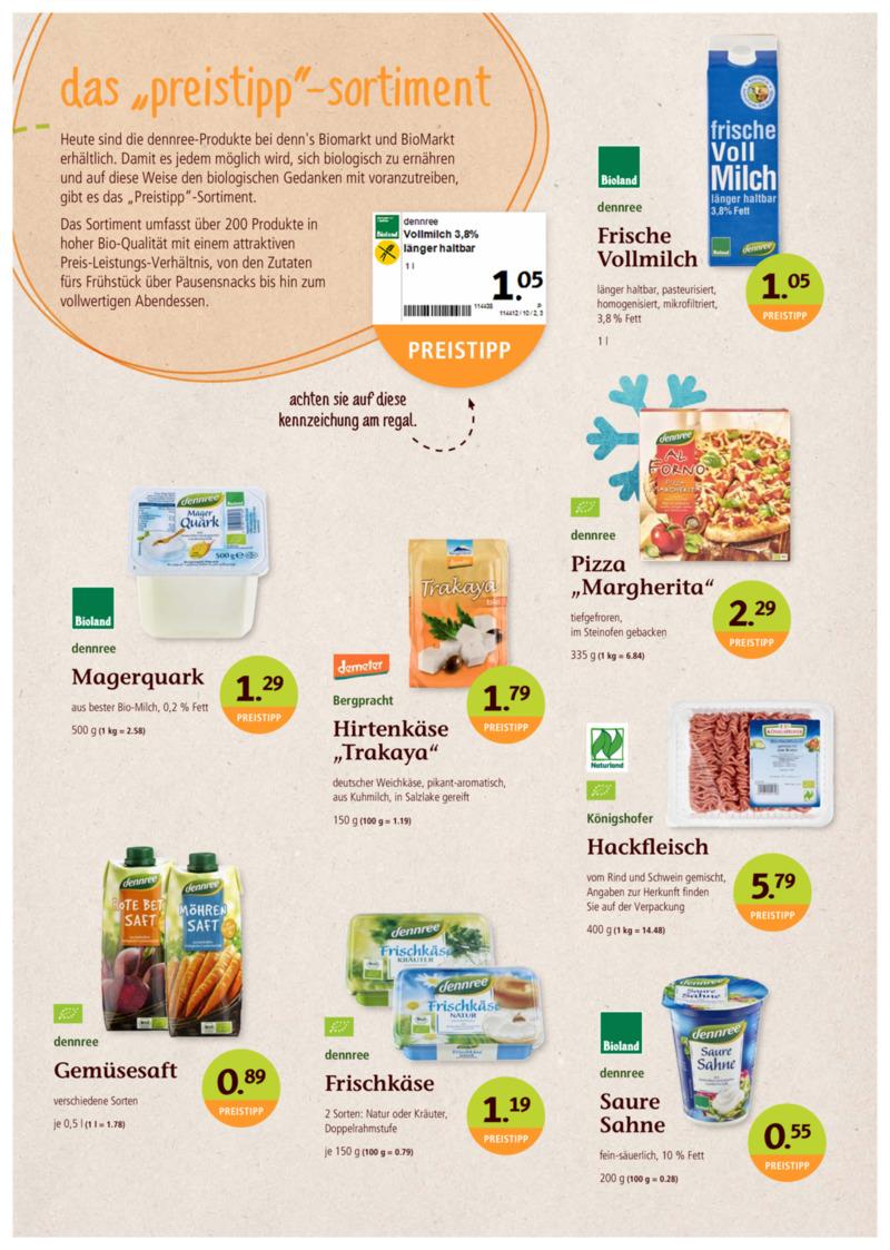 denn's Biomarkt Prospekt vom 02.01.2019, Seite 2