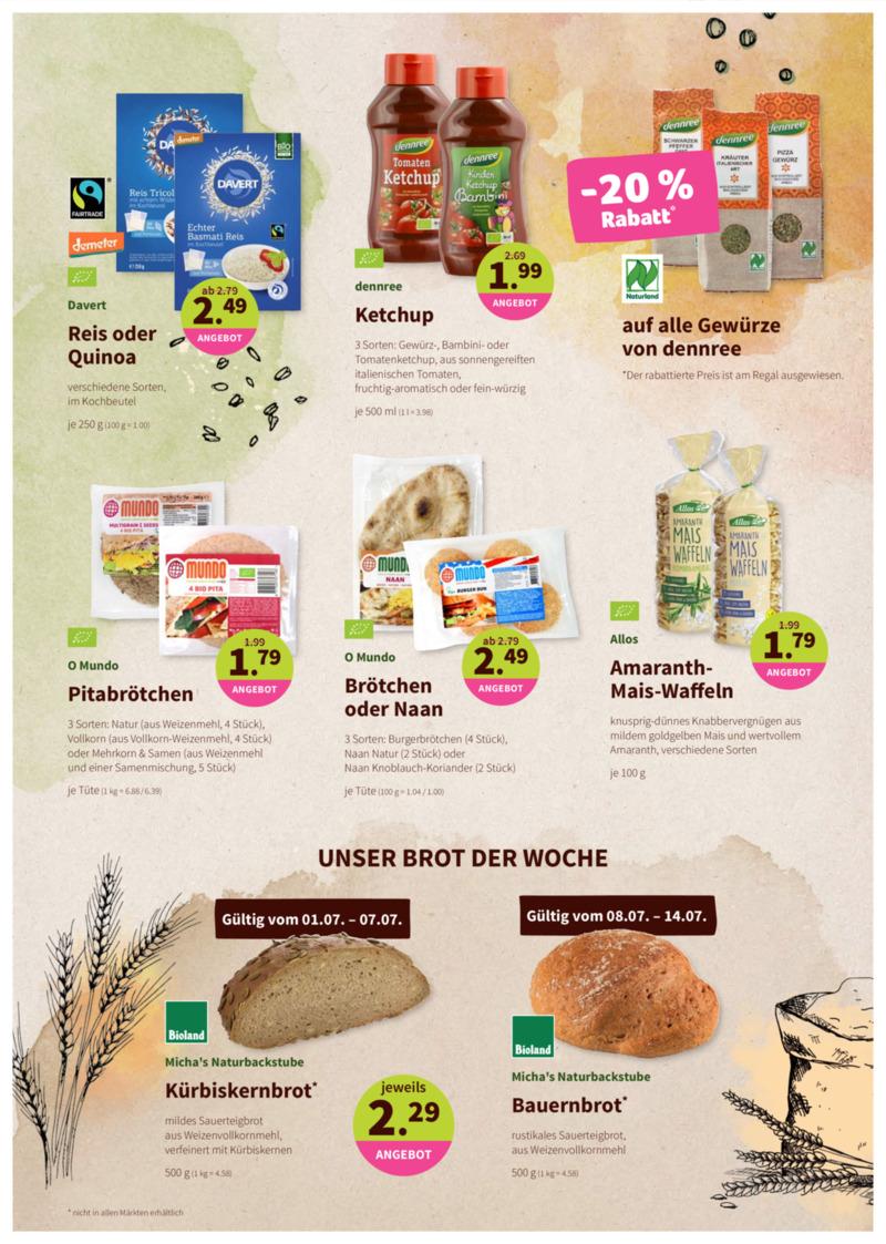 denn's Biomarkt Prospekt vom 01.07.2020, Seite 8