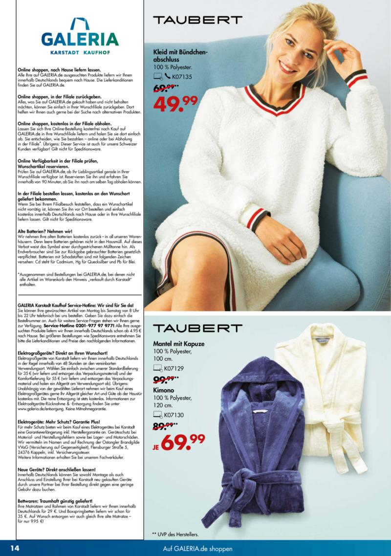 GALERIA Karstadt Kaufhof Prospekt vom 13.11.2019, Seite 13