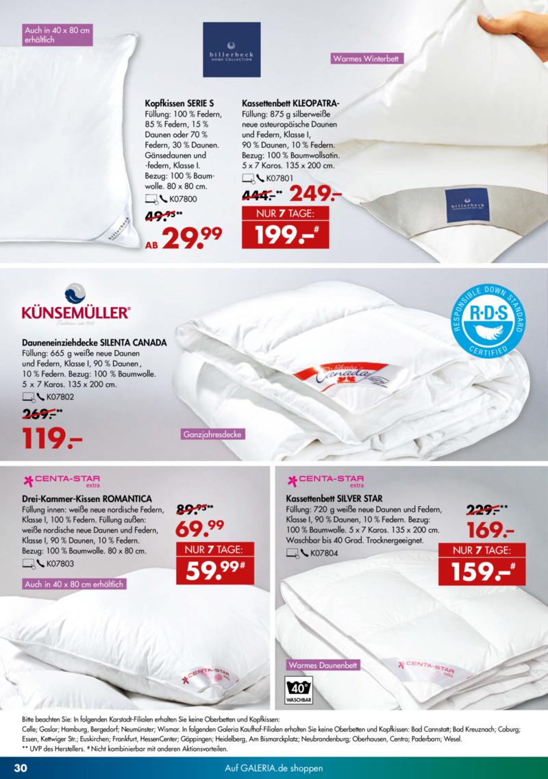 GALERIA Karstadt Kaufhof Prospekt vom 13.11.2019, Seite 29