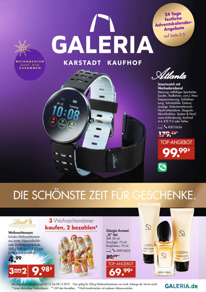 GALERIA Karstadt Kaufhof Prospekt vom 02.12.2019, Seite