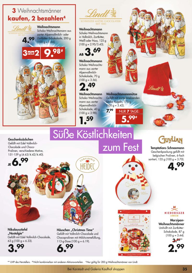 GALERIA Karstadt Kaufhof Prospekt vom 02.12.2019, Seite 34