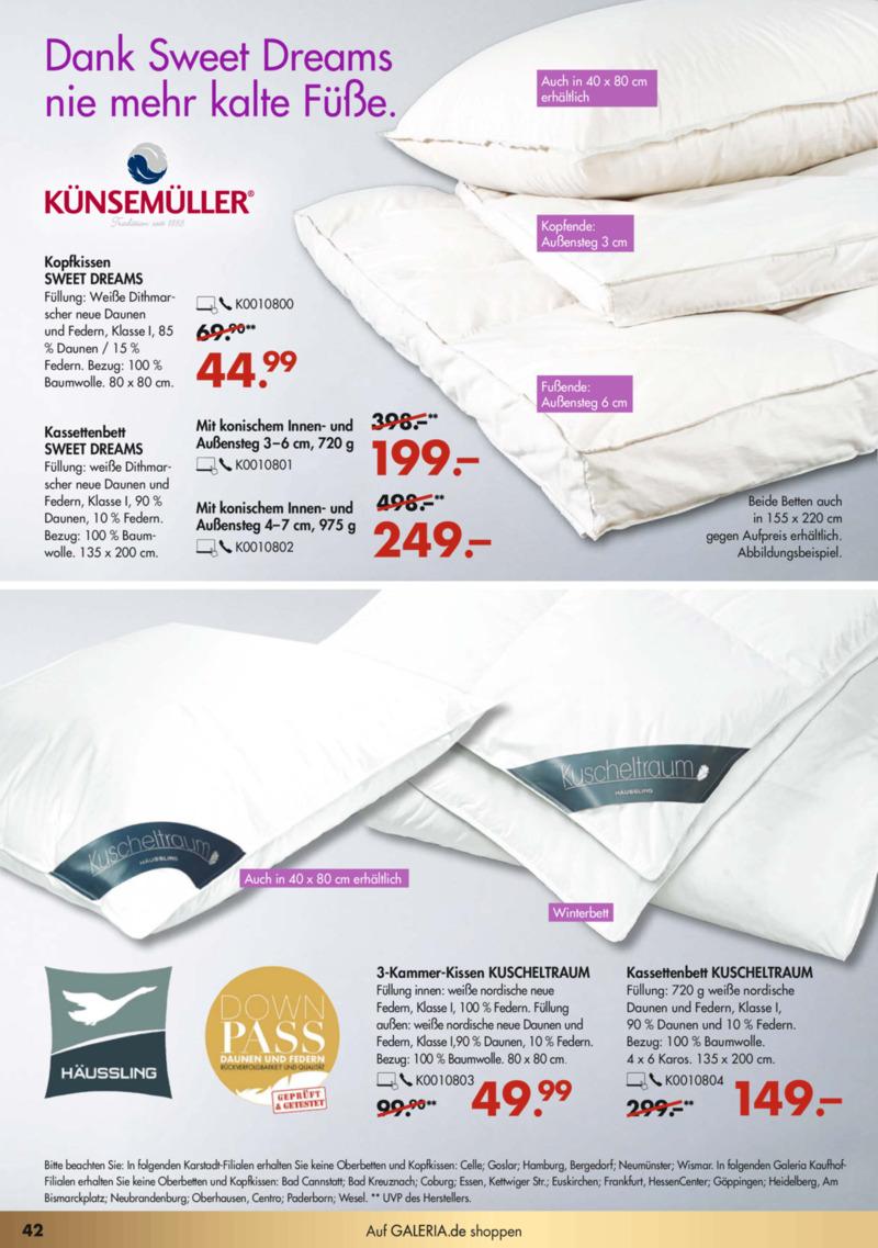 GALERIA Karstadt Kaufhof Prospekt vom 02.12.2019, Seite 41