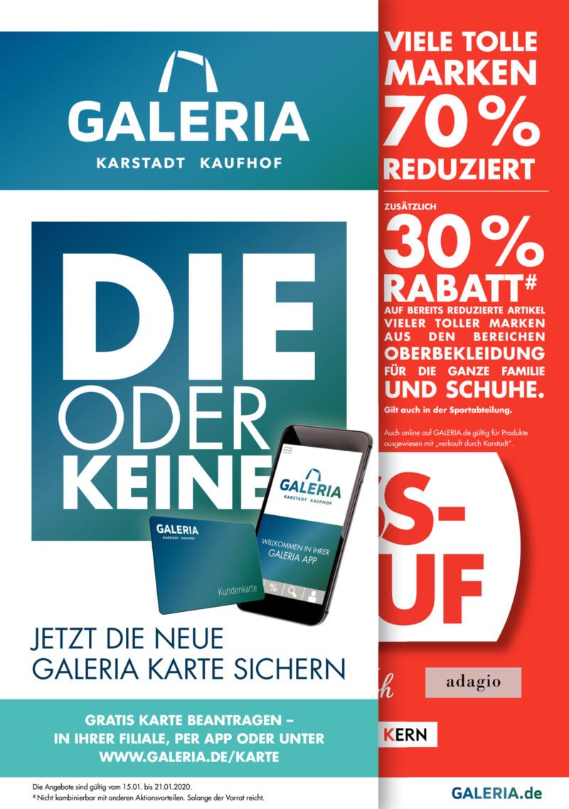 GALERIA Karstadt Kaufhof Prospekt vom 15.01.2020, Seite