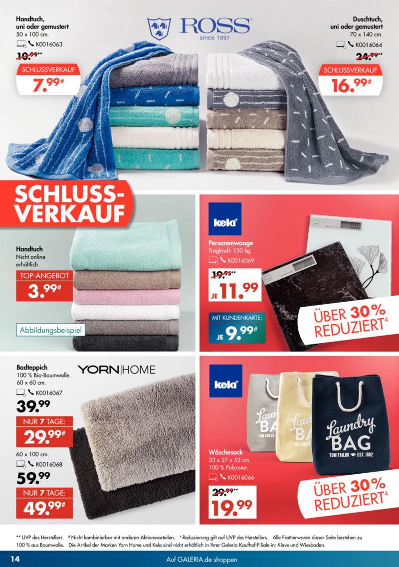GALERIA Karstadt Kaufhof Prospekt vom 15.01.2020, Seite 13