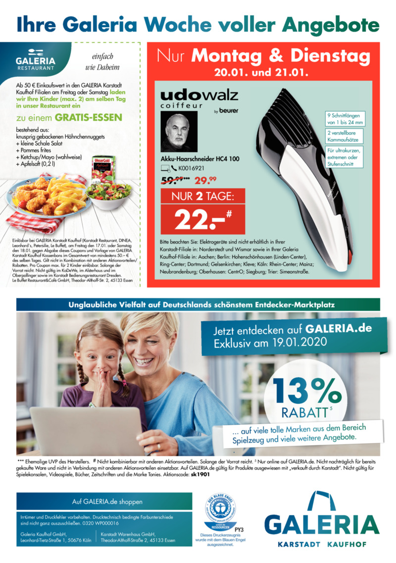 GALERIA Karstadt Kaufhof Prospekt vom 15.01.2020, Seite 35