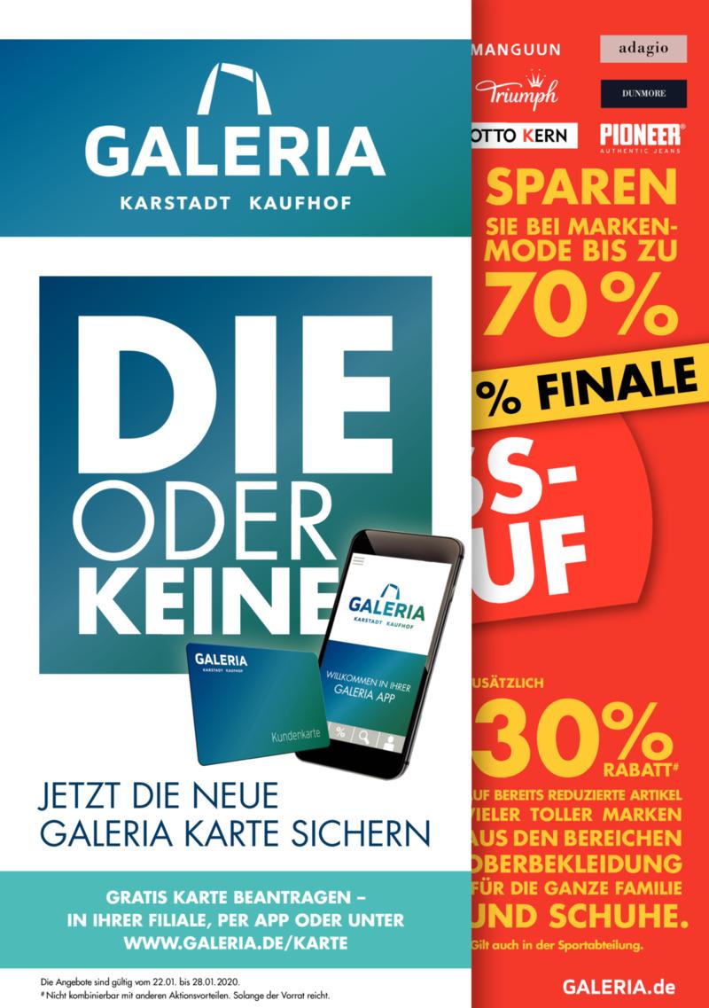 GALERIA Karstadt Kaufhof Prospekt vom 22.01.2020, Seite